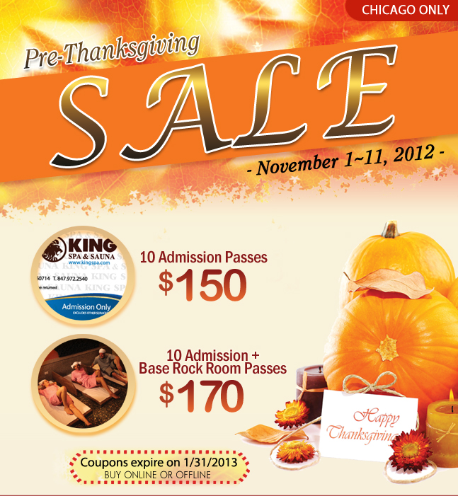 King Spa Chicago Sale